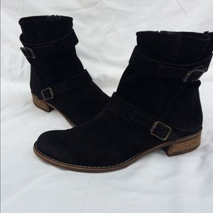 Paul Green suede leather boots